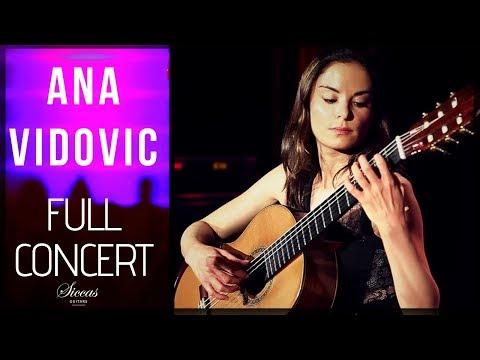 ANA VIDOVIC - LIVE CONCERT - LAMBRECHT – CLASSICAL GUITAR EVENTS