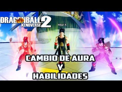 Dragon Ball Xenoverse 2: Tutorial para Cambio de Aura y Habilidades a los personajes [MOD]