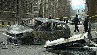 Stigmates d'une explosion brutale de violences en Bosnie