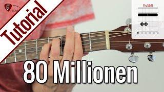 Max Giesinger - 80 Millionen | Gitarren Tutorial Deutsch