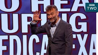 Bad things to hear during a medical exam - Mock the Week: 2017 - BBC Two