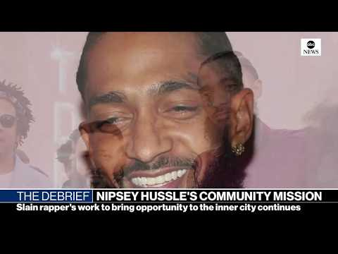 The Debrief: Nipsey Hussle vigil, border battle, health care fight | ABC News