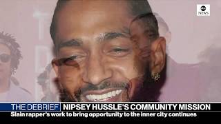 The Debrief: Nipsey Hussle vigil, border battle, health care fight | ABC News