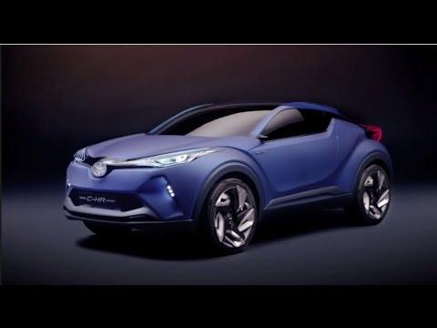 【C-HR SUV】トヨタ新型プリウスベースのSUV発売予定