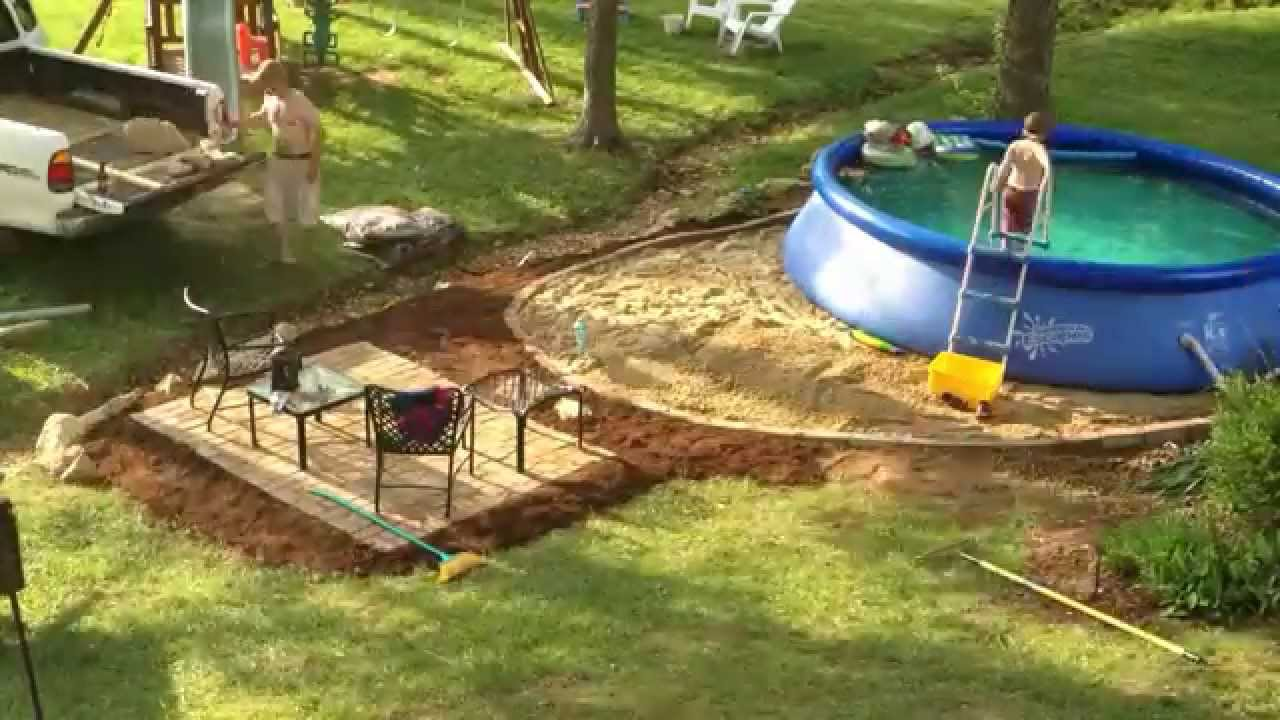 Installing A Summer Escapes 14 Quick Set Pool And Patio
