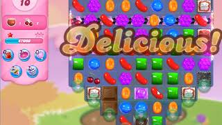 Candy Crush Saga Level 4297 NO BOOSTERS