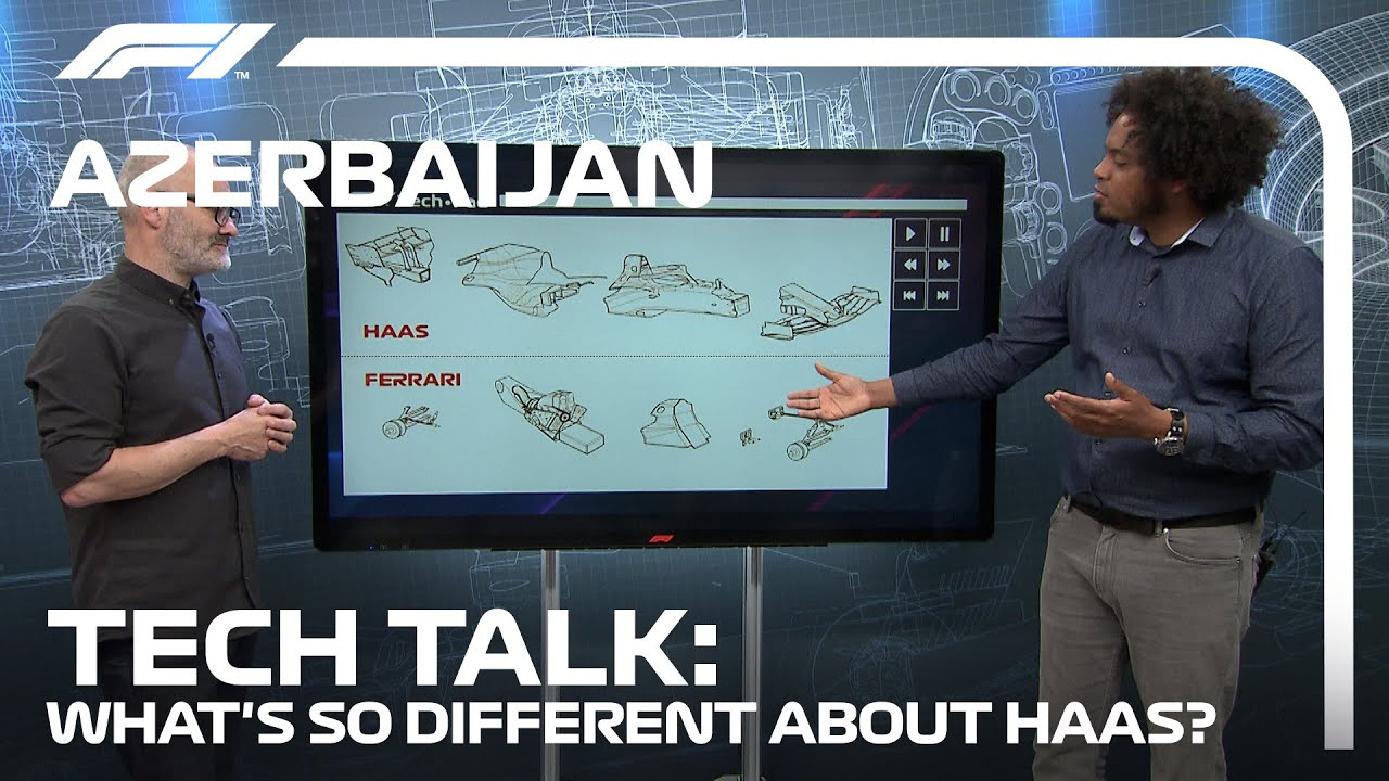 A Deep Dive Into Haas' Listed Parts | F1 TV Tech Talk | 2021 Azerbaijan Grand Prix