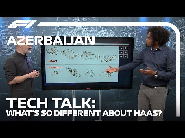 A Deep Dive Into Haas' Listed Parts   F1 TV Tech Talk   2021 Azerbaijan Grand Prix