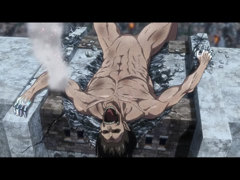 Eren VS Colossal Titan | Attack On Titan Season 3 Part 2 | Eng Sub