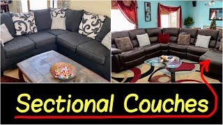 ✅My Best Sectional Couch Deals at Home: L-shaped Sectional Sofa, Recliner & Chaise for Living Room