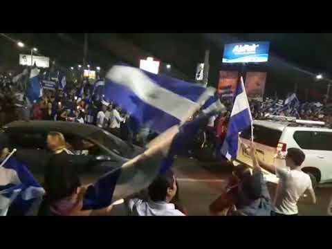 Rinden homenaje a los fallecidos durante las protestas en Nicaragua