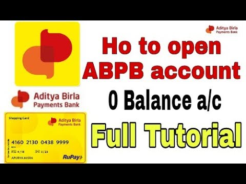 Aditya Birla Idea Payments Bank How To Open Idea Payment Bank