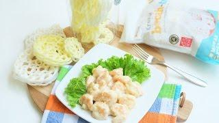 Resep Udang Goreng Saus Mayonaise + Krupuk Bocah-Tua