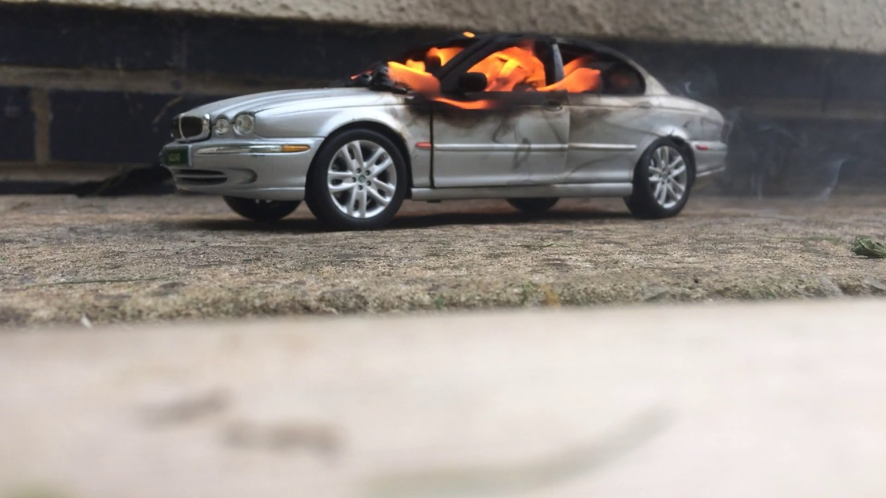 Jaguar Car On Fire Awesome Ideas