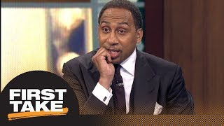 Stephen A. Smith explains why Nick Saban should bench Jalen Hurts | First Take | ESPN