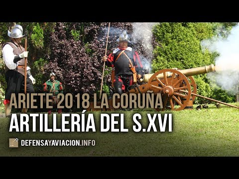 Artillery salvoes of the 16th Century