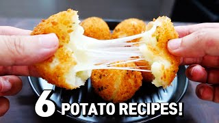 6 New Ways To Enjoy Potato Recipes