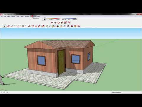 Fast rendering in SketchUp (Using Brighter 3D software)