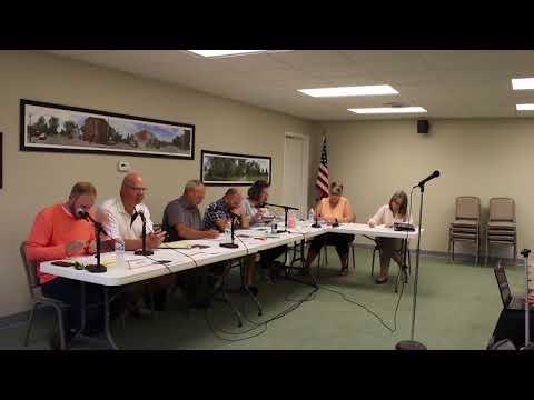 Goodrich Village Council Meeting October 9, 2017