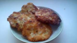 Рубленые куриные котлеты- Оочень вкусные/Chopped chicken kotlety- Delicious
