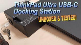 ThinkPad Ultra Docking Station USB-C (4K)