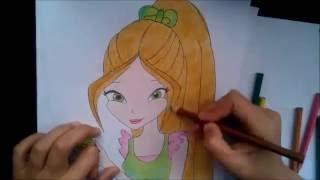 Winx Club Flora Çizimi / How to draw Winx Club Flora