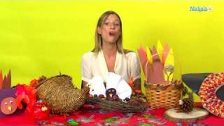 How To Make A Thanksgiving Turkey Candle