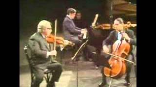 Istomin Stern Rose play Schubert Trio No. 1 in B flat Op. 99