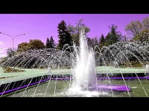 Фонтан. Шум вода. Релакс. Отдых. \ Fountain. Noise of water. Relax. Recreation.