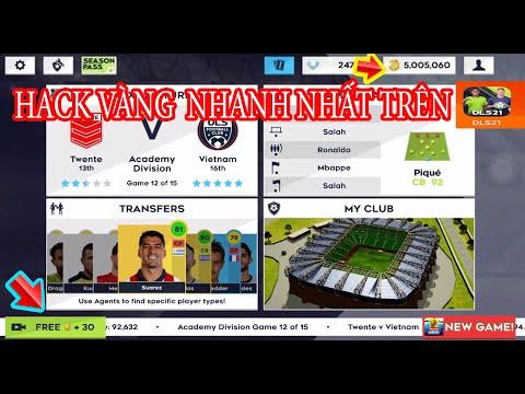 cách hack tiền game dream league soccer - HƯỚNG DẪN HACK VÀNG QUẢNG CÁO 1 GIÂY TRÊN DLS 2021 MỚI NHẤT