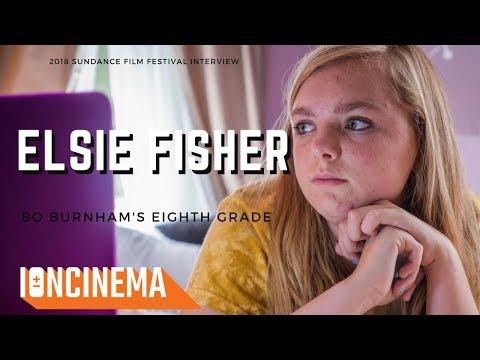 Interview: Elsie Fisher  - Bo Burnham's Eighth Grade   2018 Sundance Film Festival