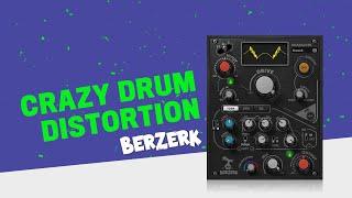 Crazy Drum Distortion with the Waves Berzerk Plugin