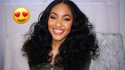 Best Loose Wave Hair Bundles West Kiss Hair | Aliexpress Hair Review