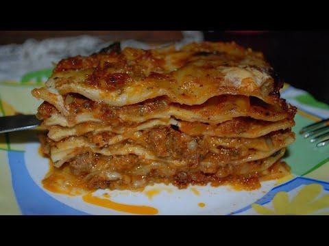 recette-lasagne-à-la-bolognaise,-faite-maison-et-facile-à-préparer-/-لازانيا-باللحم-المفروم