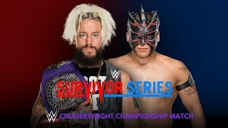 WWE Survivor Series 2017: Kick-Off Show: Enzo Amore vs. Kalisto