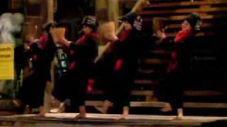 Thai Dance showing tea cultivation process