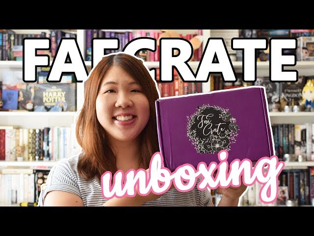 Faecrate Unboxing: April Hold My Crown Box