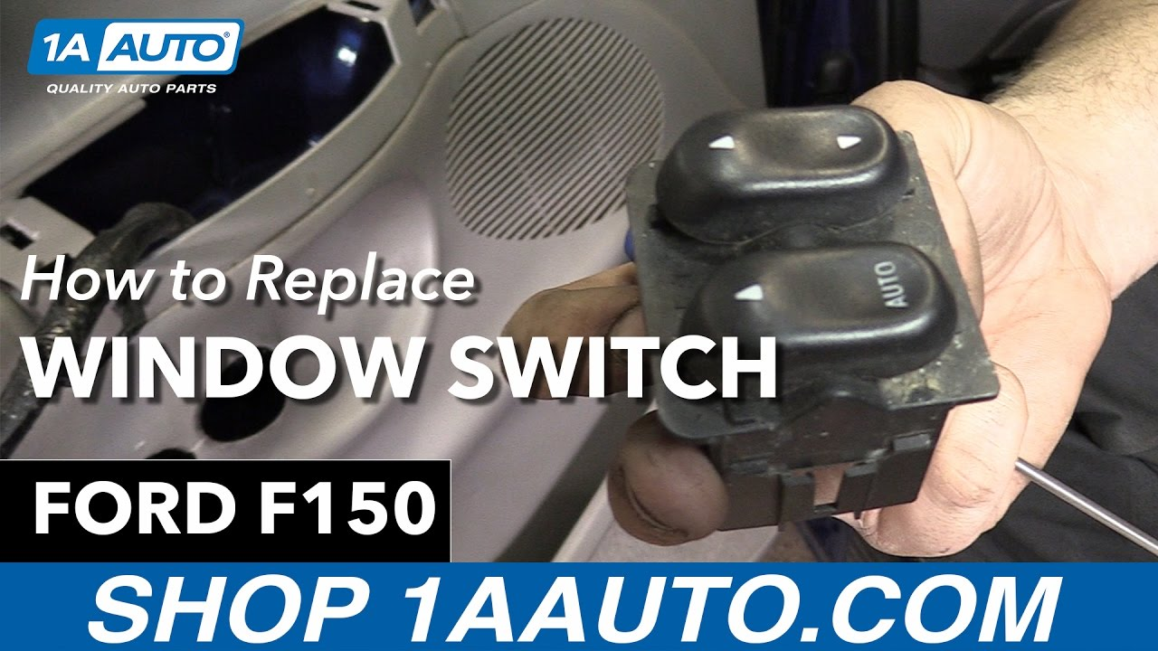 How to replace install window switch 98 ford f150 buy quality auto parts at 1aauto com