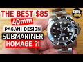 Is this the best $85 Submariner Homage?! - PD 1661 all black 40mm