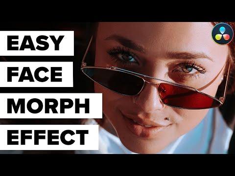 Easy Face Morph Effect - DaVinci Resolve