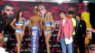 Terrell Gausha 155 lbs vs Steven Martinez 154.6 lbs