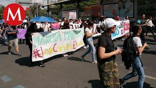 Marcha contra el acoso sexual llega a Rectoría