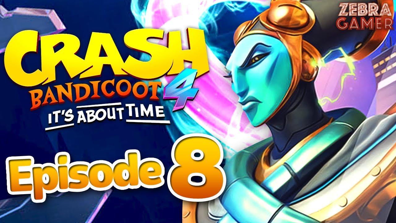 Download Crash Bandicoot 4: It's About Time Gameplay Walkthrough Part 8 - Bermugula's Orbit! N. Tropy Boss!