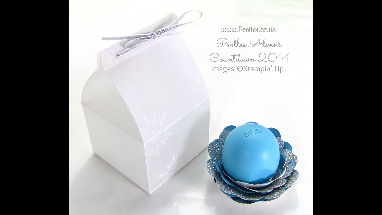 Pootles Advent Countdown Frosty Box Tutorial for EOS Balm - YouTube