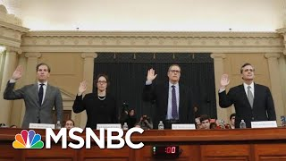 Did The Latest Trump Impeachment Hearing Change Anything On Capitol Hill  The 11th Hour  MSNBC