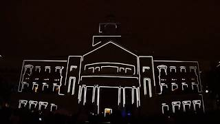 LD Systems - New Years Eve 2010 - 3D Projection Mapping - Sugar Land, TX