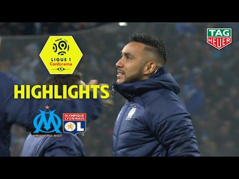 Olympique De Marseille - Olympique Lyonnais ( 2-1 ) - Highlights - (OM - OL) / 2019-20
