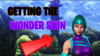 HOW TO GET THE WONDER SKIN IN FORTNITE BATTLE ROYALE