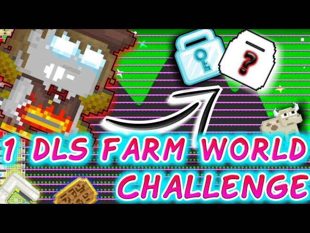 1Dls Farm World Challenge !! | GrowTopia