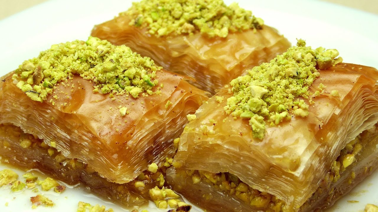How To Make Baklava Easy Turkish Recipes Youtube